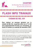 Flash Info Travaux
